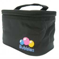 Bubbles Compact Cooler Bag With Handle (Black)