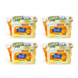 Pureen Baby Wipes (8x30 sheets)
