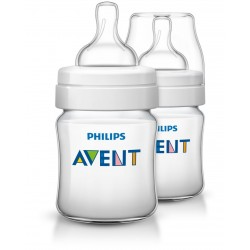 Philips Avent - Classic + Feeding Bottle 4Oz/125Ml (Twin Pack)