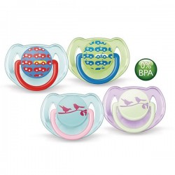 Philips Avent Soother Fashion Range (6-18 Month) Twin Pack