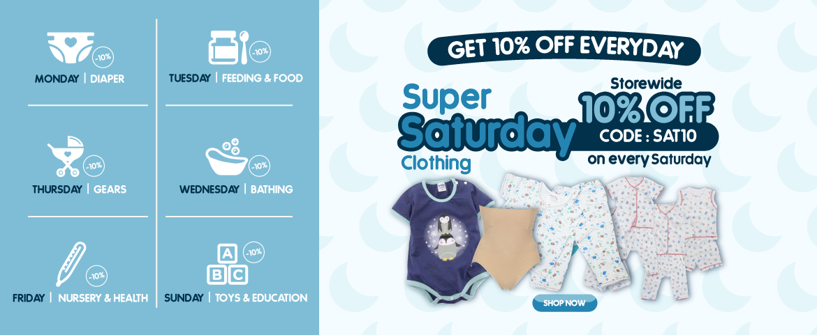 Baby Clothing Promotion