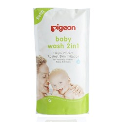 Pigeon Sakura Baby Wash 2 in 1, Refill, 900ml