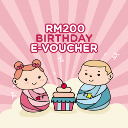Motherhood RM 200 E-Gift Cards (Happy Birthday)