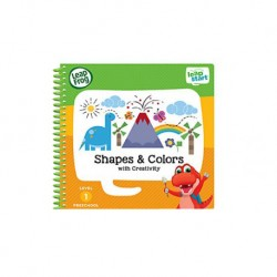 LeapFrog LeapStart Book, Shapes And Colors With Creativity
