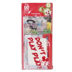 Disney Mickey Mouse Go Local 4 In 1 Transparent Coin Purse