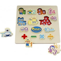 Pororo Toys Number Board