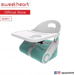Sweet Heart Paris Portable Foldable Travel Feeding Dining Booster High Chair HC2511 with Food Tray