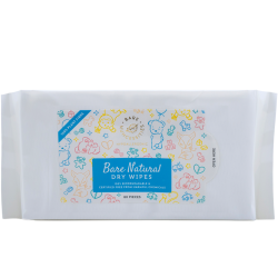 Bare Nuhcessities Natural Dry Wipes (80pcs)