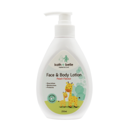Kath + Belle Face and Body Lotion (Peach) 250ml