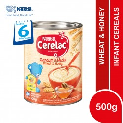 Nestle Cerelac Infant Cereals Wheat and Honey (500g)