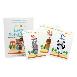 Motherhood Flash Card (Alphabet J-R) - Series 2