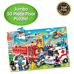 TLJI Jumbo Floor Puzzle Emergency Rescue