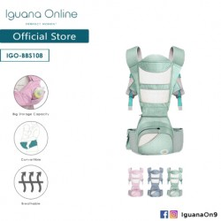 Iguana Online Seat Baby Carrier BBS108 with Four Seasons Breathable (Teal)