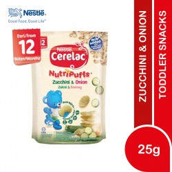 Nestle Cerelac NutriPuffs Zucchini & Onion (25g)