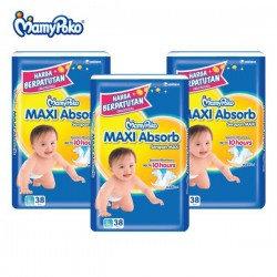 MamyPoko Maxi Absorb L38 x 3 Packs