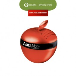 OGAWA Aura Mate Personal Air Purifier for Cars and Small Space (Red)