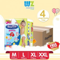 Drypro Classic Baby Pants (4packs)