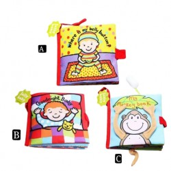 BabeSteps JollyBaby Three-Dimensional Cloth Book - B499