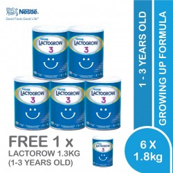 Nestle Lactogrow 3 Milk Powder 1.8kg x 6