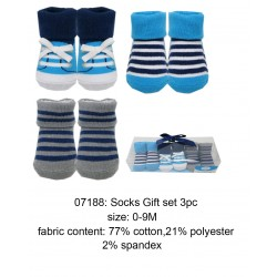 Luvable Friends Socks Gift Set - Little Shoe (3pairs)