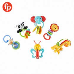 Fisher Price NewBorn Animal Friends Gift Set