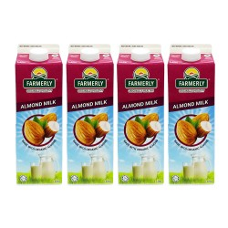 Farmerly Almond Drink 1L (4 Packets)