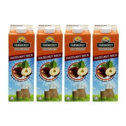 Farmerly Hazelnut Drink 1L (4 Packets)