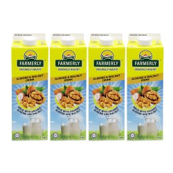 Farmerly Almond and Walnut Drink 1L (4 Packets)