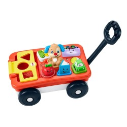 Fisher-Price Laugh and Learn Pull and Play Learning Wagon