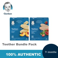 Gerber Teethers Bundle (48g x 2)