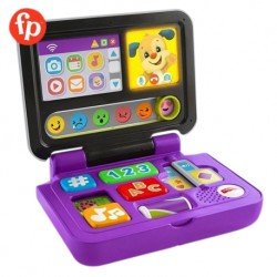 Fisher Price Laugh and Learn Click and Learn Laptop Music and Sounds Early Development Electronics Toys