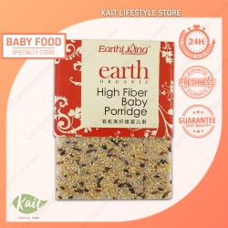 Earth Living Organic High Fiber Baby Porridge (1kg x 2) [Double Combo]