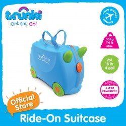 Trunki Ride-On Suitcase (Terrence)