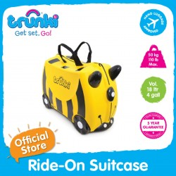 Trunki Ride-On Suitcase (Bernard)