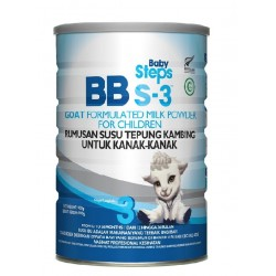 [RM5 DISCOUNT] Baby Steps BBs-3 Goat Milk Children Formula (900g)