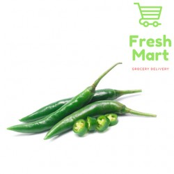 Fresh Vegetable Green Chili / Cili Hijau 100g