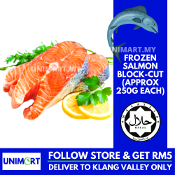 UNIMART Imported Norwegian Salmon Block-cut (Approx 250g each)