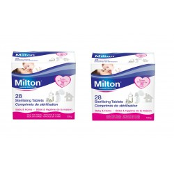 MILTON Sterilising Tablets (28 Tablets) (Pack of 2)