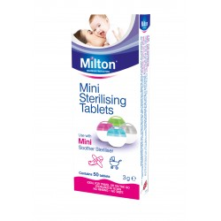 MILTON Mini Sterilizing Tablets (50 Tablets)