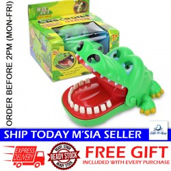 Little B House Crocodile Dentist Finger Game Funny Toy Tooth Extraction Bite Finger Toy - BT248