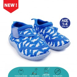 Cheekaaboo Toddler Aqua Beach Shoes (Blue)