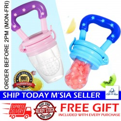 Little B House Feeding Pacifier Baby Fresh Food Fruits Soup Feeder Bite Bag Dummy Teething Pacifier - TW09