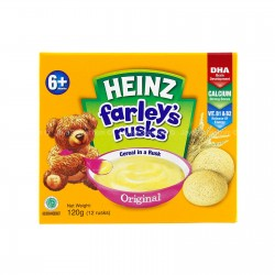 Heinz Farley's Rusks Cereal in a Rusk 6+ months Original (120g)