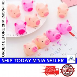 Little B House Pig Rebound Squeeze and Pinching Decompression, Spoofing Vocal Toy Silicone Rebound Hogs Toys - BT232