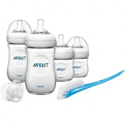 Philips Avent Natural Newborn Starter Set (BPA FREE) - ANTI COLIC (SCD290/11)