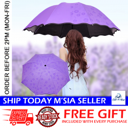 Little B House Portable Creative Magic Flower Umbrella Anti-UV Sun Rain High Quality - UM03