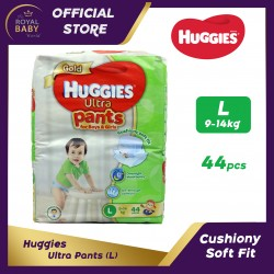 Huggies Ultra Disposable Pants (L) 9-14kg (44pcs)