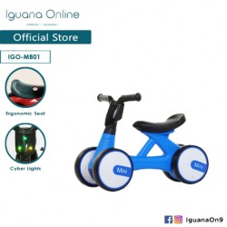 Iguana Online Miniature Children Bicycle Balance Bike Mini Bike Walker Bike Scooter Bike Kids Toys MB01 (Blue)