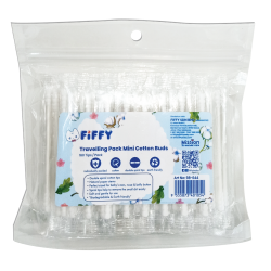 FIFFY Travelling Pack Mini Cotton Buds (160TP) 98-644 - 20497120