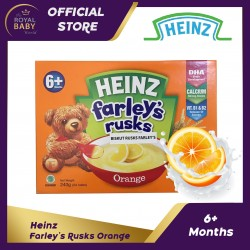 Heinz Farley's Rusks Cereal in a Rusk 6+ months Orange (240g)